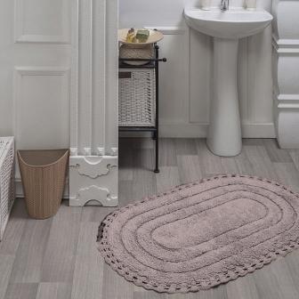 Коврик для ванной кружевной Sofi de Marko Bath Mats Yana S.045пудра