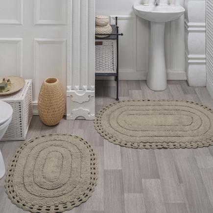 Набор ковриков для ванной кружевной Sofi de Marko Bath Mats Yana S.046кап
