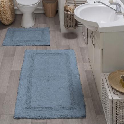 Набор ковриков для ванной кружевной Sofi de Marko Bath Mats Karla S.047голуб