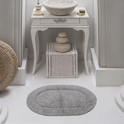 Коврик для ванной кружевной Sofi de Marko Bath Mats Galya S.049серое