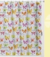 Шторка Creative Bath Flutterby 183х183см