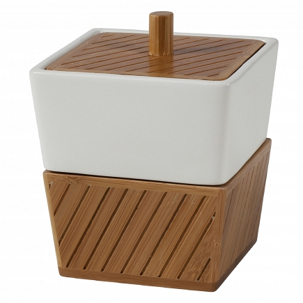 Косметическая емкость Creative Bath Spa Bamboo SBM25BR