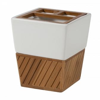 Стакан для зубных щеток Creative Bath Spa Bamboo SBM60BR