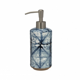 Дозатор для жидкого мыла Creative Bath Shibori SHB59IND