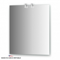Зеркало со светильниками Ellux Sonet 65х75см