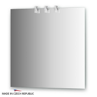 Зеркало со светильниками Ellux Sonet 75х75см