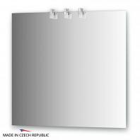 Зеркало со светильниками Ellux Sonet 80х75см