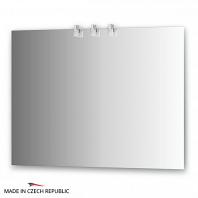 Зеркало со светильниками Ellux Sonet 100х75см
