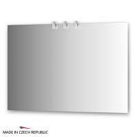 Зеркало со светильниками Ellux Sonet 110х75см