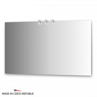 Зеркало со светильниками Ellux Sonet 130х75см
