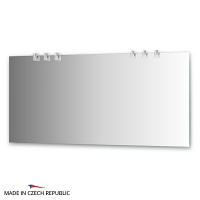 Зеркало со светильниками Ellux Sonet 160х75см