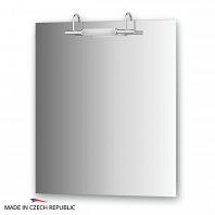 Зеркало со светильником Ellux Spiros 65х75см