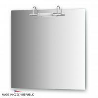 Зеркало со светильником Ellux Spiros 75х75см