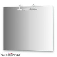 Зеркало со светильником Ellux Spiros 90х75см