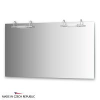 Зеркало со светильниками Ellux Spiros 130х75см