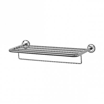Полка FBS Standard для полотенец с нижним  держателем 60см STA 042