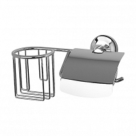 Держатель для туалетной бумаги FBS Standard с крышкой и освежителя