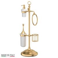 Стойка 3SC Stilmar Matte Gold комбинированная для биде и туалета