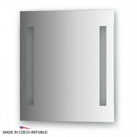 Зеркало со встроенными светильниками Ellux Stripe Led 50х55см