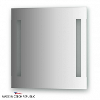 Зеркало со встроенными светильниками Ellux Stripe Led 55х55см