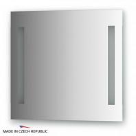 Зеркало со встроенными светильниками Ellux Stripe Led 60х55см