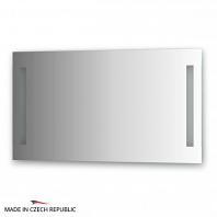Зеркало со встроенными светильниками Ellux Stripe Led 100х55см