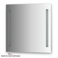 Зеркало со встроенными светильниками Ellux Stripe Led 70х70см