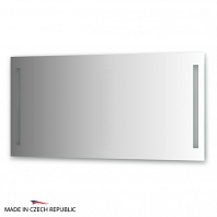 Зеркало со встроенными светильниками Ellux Stripe Led 140х70см