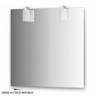 Зеркало со светильниками Ellux Tango 75х75см
