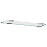 Полка LineaG Tiffany стеклянная 40 см