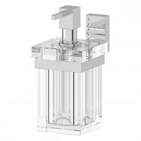 Держатель универсальный LineaG Tiffany Lux с емкостью для жидкого мыла