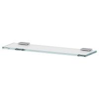 Полка LineaG Tiffany Lux стеклянная 40 см