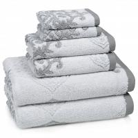 Полотенце для рук Kassatex Toscana Sterling Grey