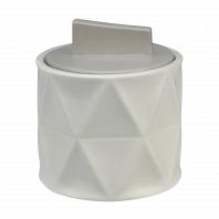 Косметическая емкость с крышкой Creative Bath Triangles