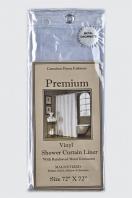 Шторка защитная Carnation Home Fashions Gauge Premium 4 Super Clear
