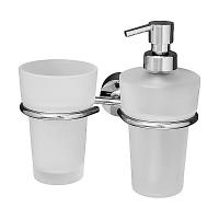 Держатель для стакана и дозатора для жидкого мыла FBS Vizovice