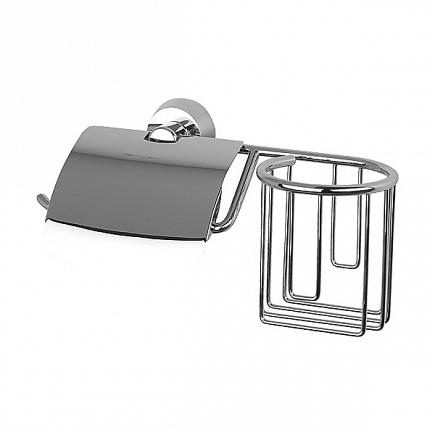 Держатель для туалетной бумаги FBS Vizovice с крышкой и освежителя VIZ 053
