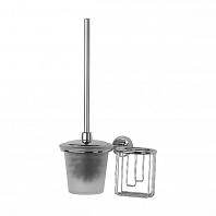 Ершик для туалета FBS Vizovice с крышкой и держателем освежителя