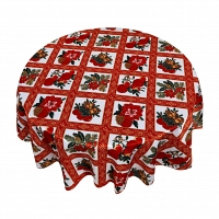 Кухонная скатерть 152х213 см Carnation Home Fashions Tablecloths Holiday Cheer