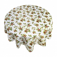Кухонная скатерть 152х213 см Carnation Home Fashions Tablecloths Holly