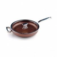 Глубокая сковорода c крышкой (стекло) Zanussi Siena 28см