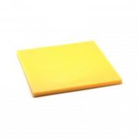 Разделочная доска 35x35x1,9см желтая Zanussi Cooking and Dining