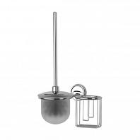 Ершик для туалета FBS Ellea с крышкой и держателем освежителя
