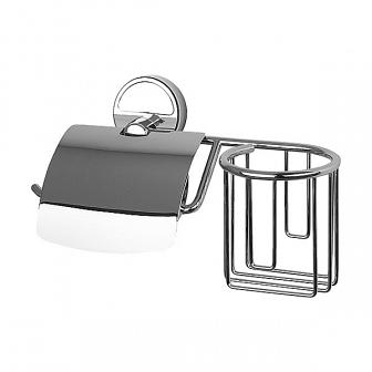 Держатель для туалетной бумаги FBS Luxia с крышкой и освежителя LUX 053