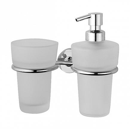 Держатель для стакана и дозатора для жидкого мыла FBS Nostalgy NOS 008