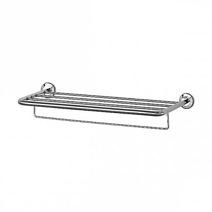 Полка FBS Standard для полотенец с нижним  держателем 70см STA 043